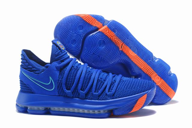 Nike KD 10 Shoes China Blue