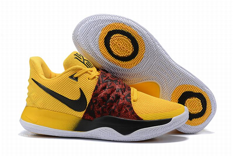 Nike Kyire 4 Low Shoes Yellow Red Black-logo
