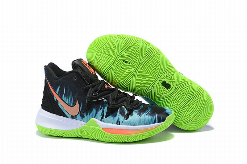 Nike Kyire 5 Black Green Flame