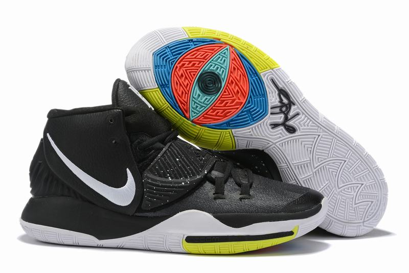 Nike Kyrie 6 Men Shoes Black White