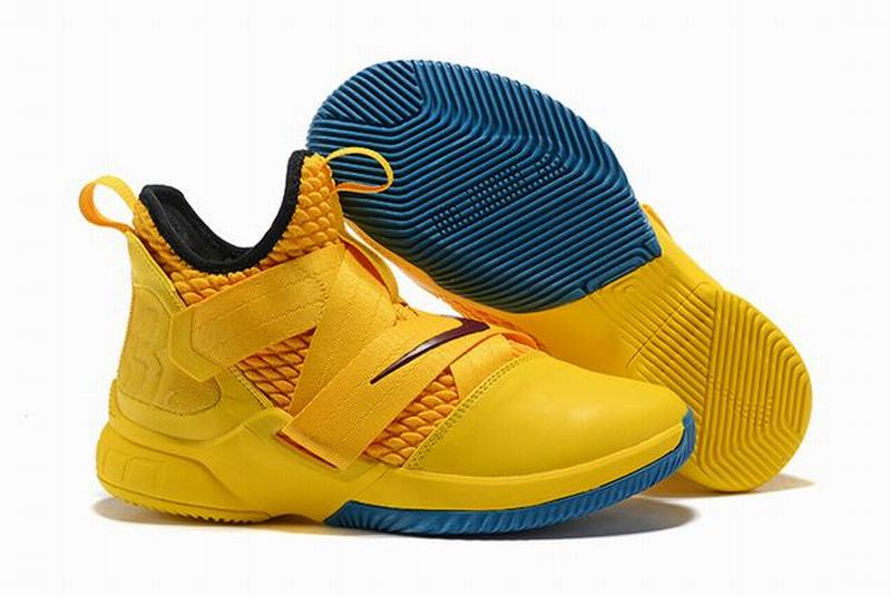 Nike Lebron James Soldier 12 Shoes Knight Yellow