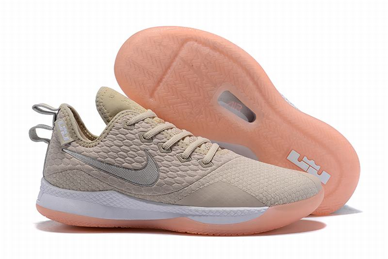 Nike Lebron James Witness 3 Shoes Beige