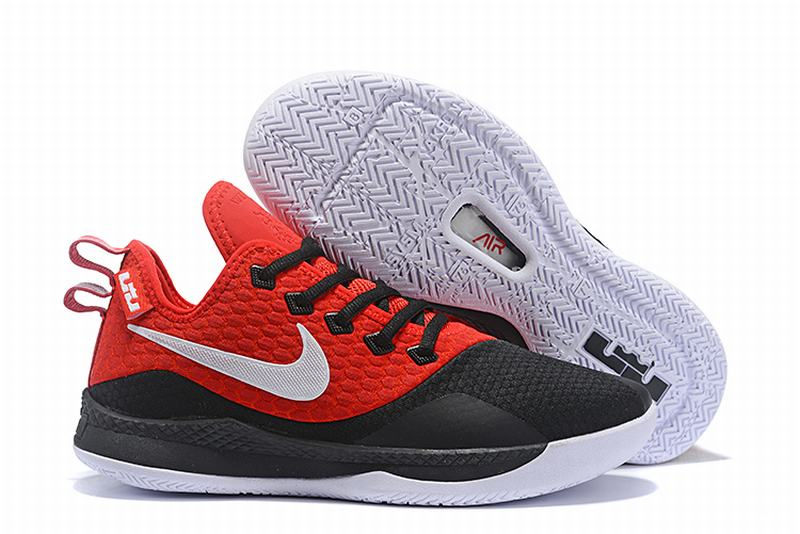 Nike Lebron James Witness 3 Shoes Red Black