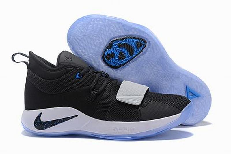 Nike PG 2.5 Black and lake blue