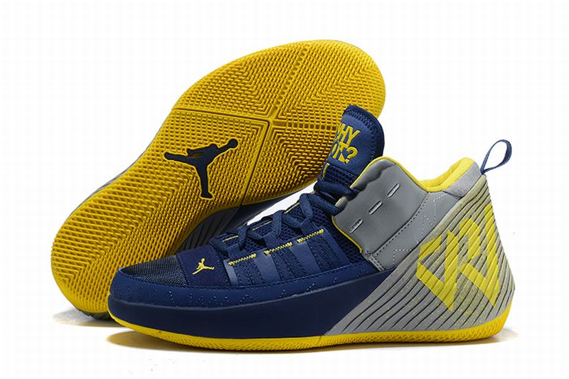 Westbrook 1.5 Shoes Dark Blue Yellow
