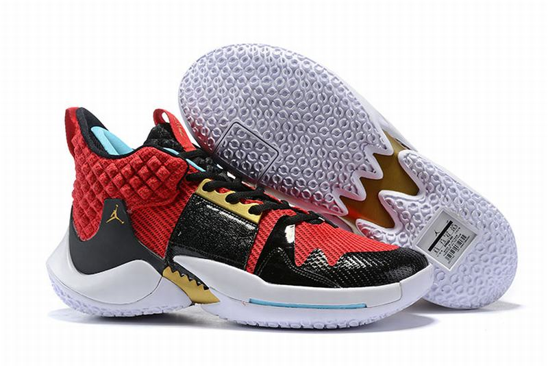 Westbrook 2 Shoes Black Red