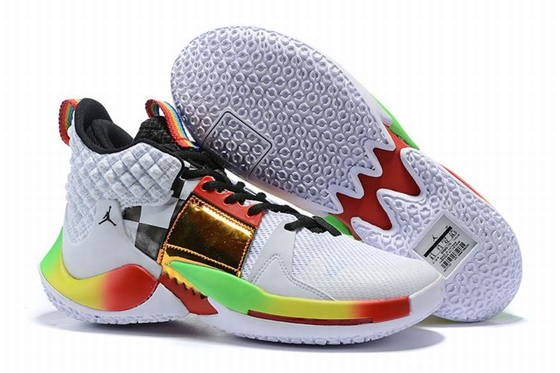 Westbrook 2 Shoes White Rainbow